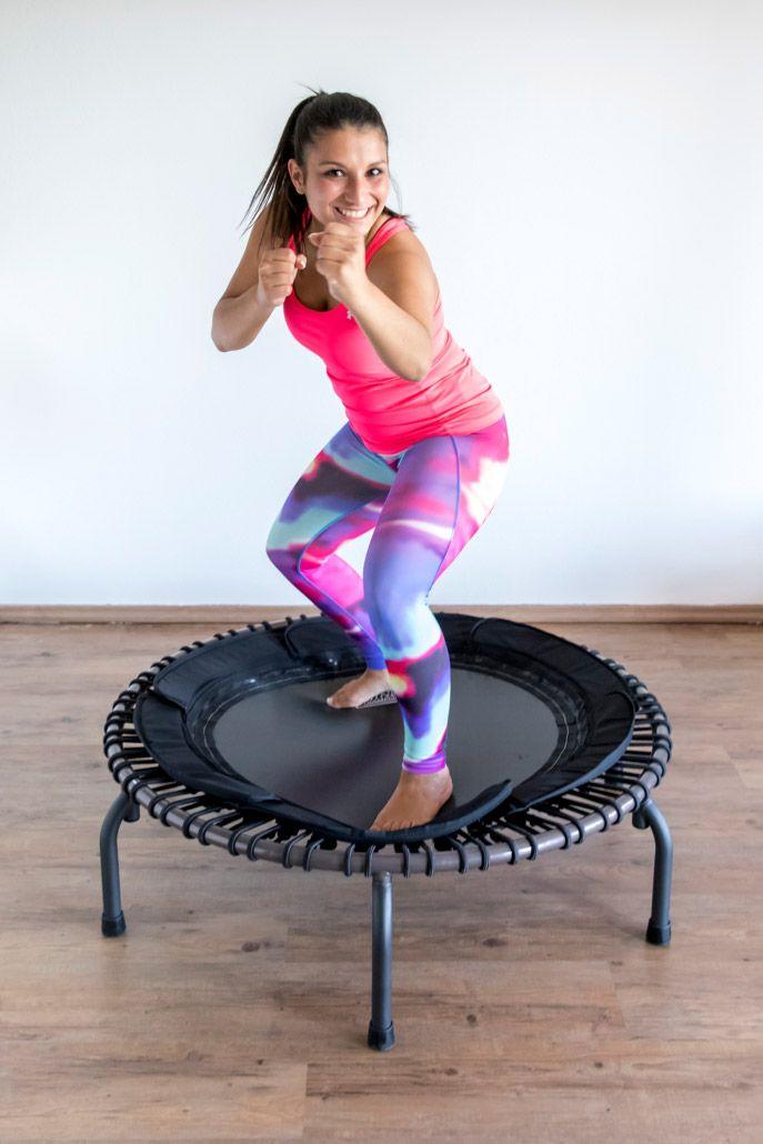 Minitrampolin für Fitness mit Spass